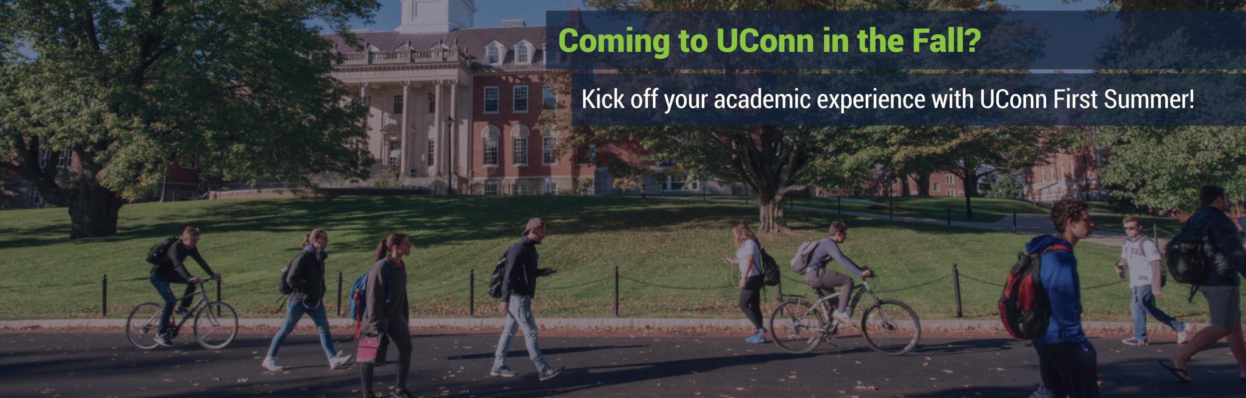 UConn First Summer: Ad